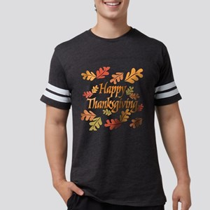 Happy Thanksgiving Mens Football Shirt T-Shirt
