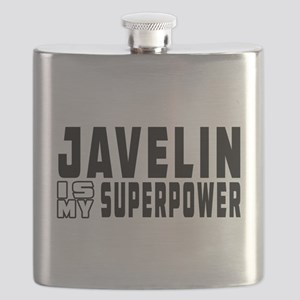 Javelin Is My Superpower Flask