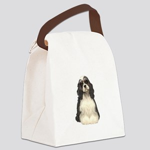 Cocker (parti) Canvas Lunch Bag