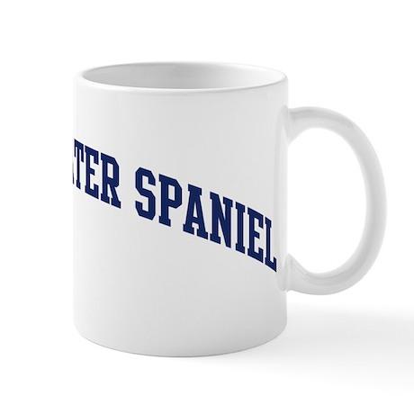American Water Spaniel (blue) Mug