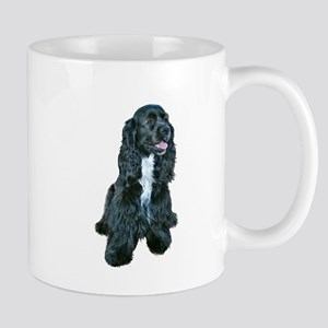 Cocker (black- white bib) Mug