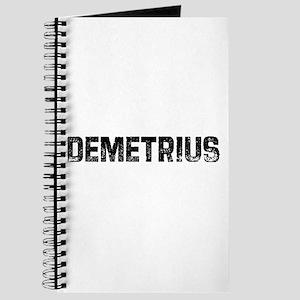 Demetrius Journal
