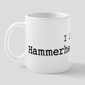 I like Hammerhead Sharks Mug