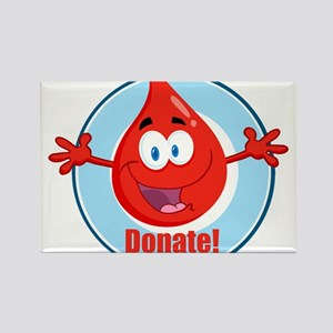 donate blood cartoon Magnets