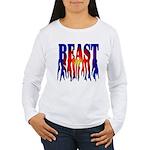 Bodybuilding Beast Mod Women's Long Sleeve T-Shirt