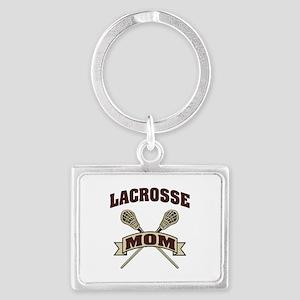 Lacrosse Mom Landscape Keychain