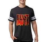 Bodybuilding Beast Mode Mens Football Shirt