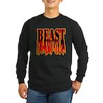 Bodybuilding Beast Mode Long Sleeve Dark T-Shirt