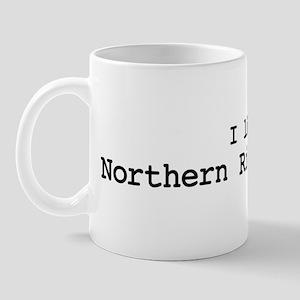 I like Northern Right Whales Mug