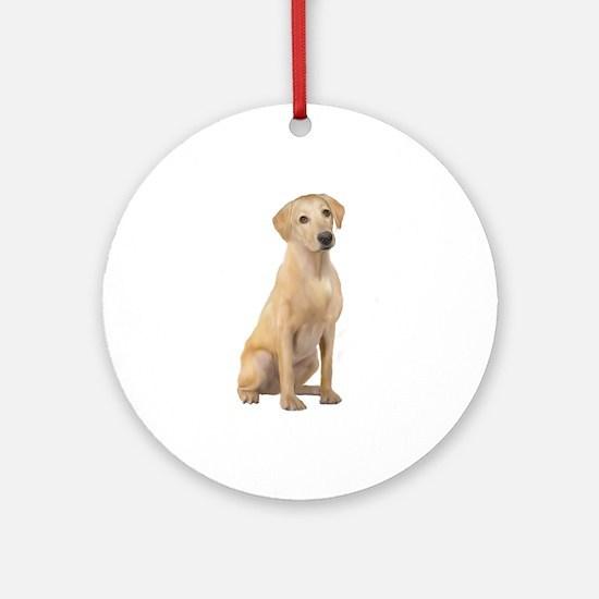 Labrador (Y3) Ornament (Round)