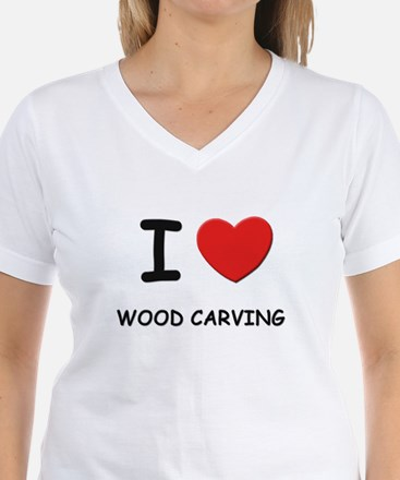 I love wood carving Shirt