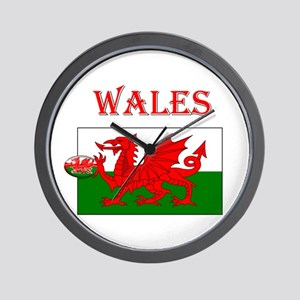 Wales Rugby Wall Clock
