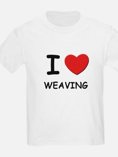 I love weaving T-Shirt