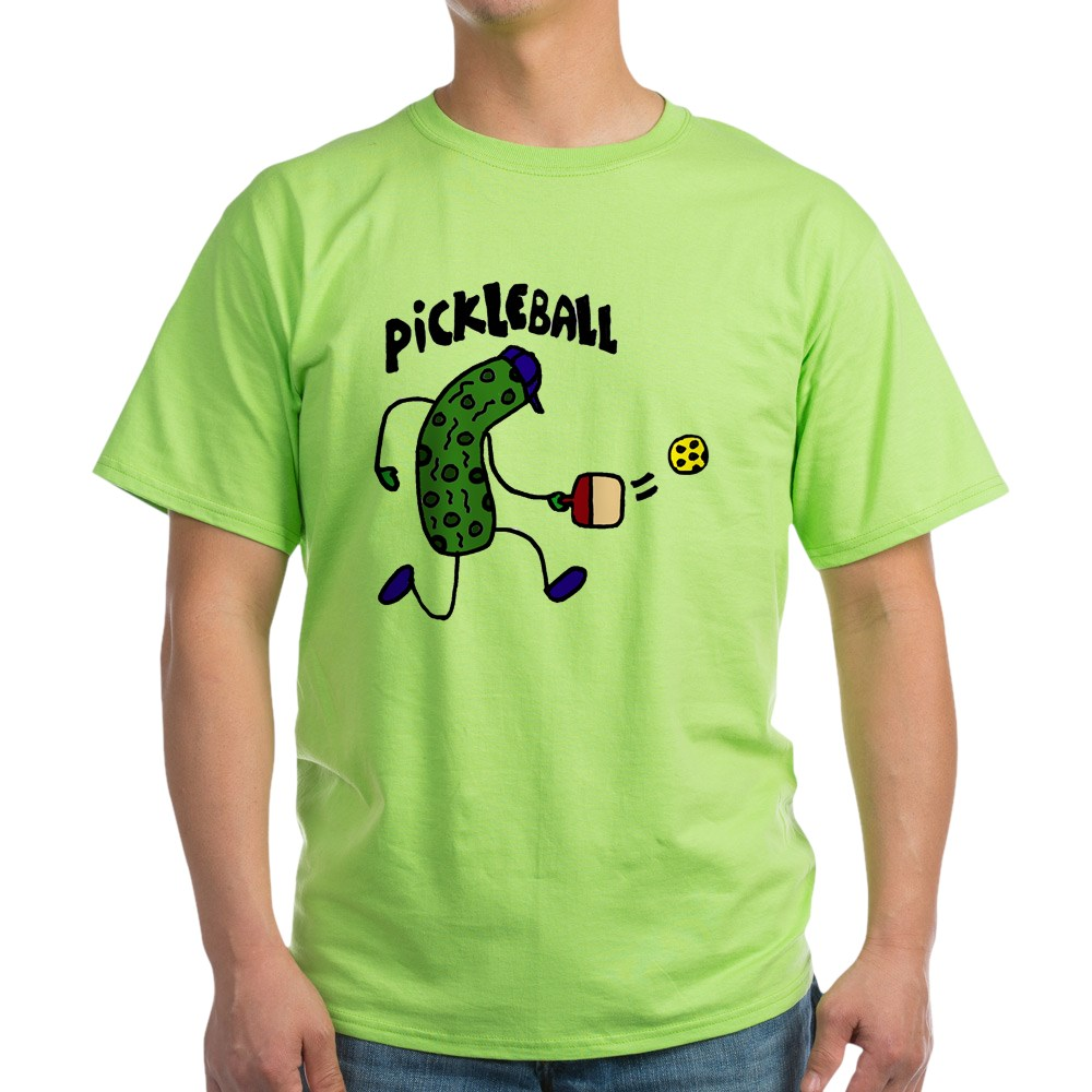 CafePress-Pickleball-Pickle-Art-Light-T-Shirt-100-Cotton-T-Shirt-1153412111 thumbnail 25