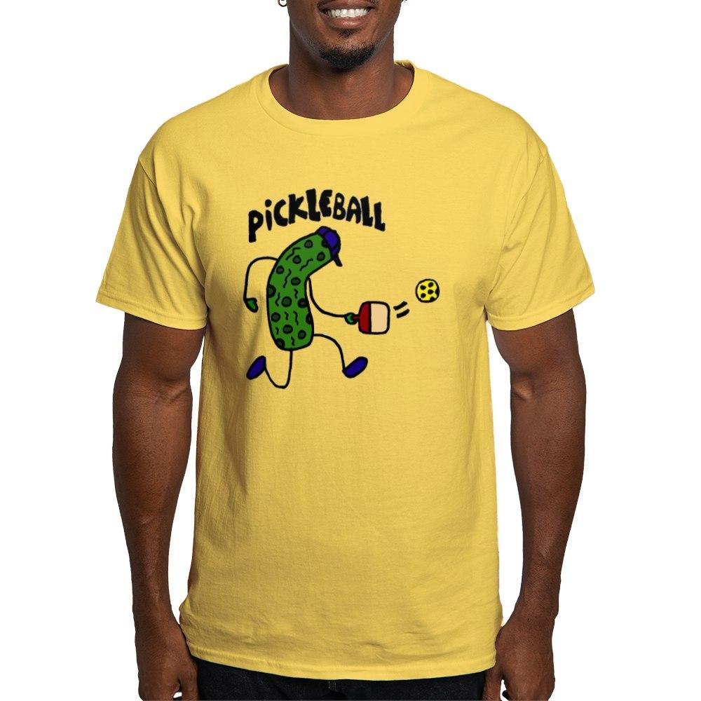 CafePress-Pickleball-Pickle-Art-Light-T-Shirt-100-Cotton-T-Shirt-1153412111 thumbnail 55