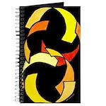 Circled Ribbons Journal