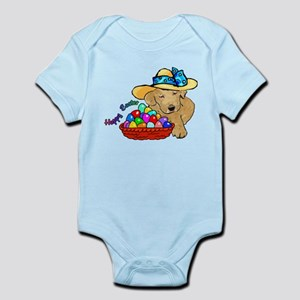 Easter Labrador Retriever Infant Bodysuit