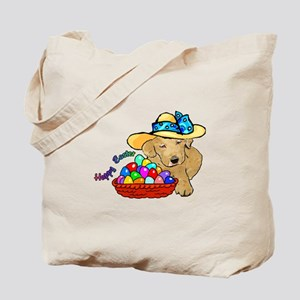 Easter Labrador Retriever Tote Bag