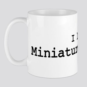I like Miniature Donkeys Mug