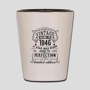 Vintage 1946 Shot Glass