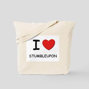 I love stumbleupon Tote Bag