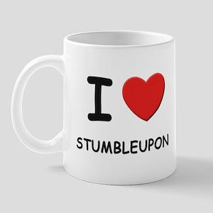 I love stumbleupon  Mug
