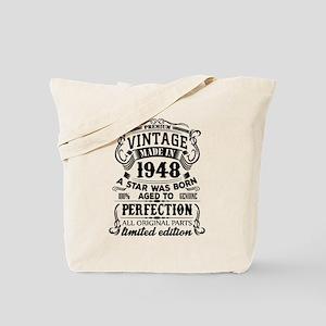 Vintage 1948 Tote Bag