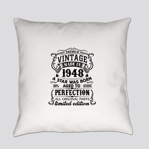 Vintage 1948 Everyday Pillow