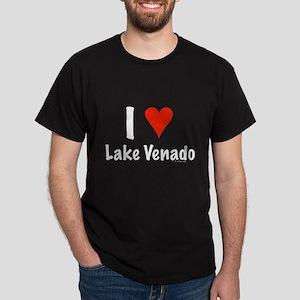 I love Lake Venado Dark T-Shirt