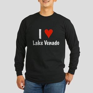 I love Lake Venado Long Sleeve Dark T-Shirt