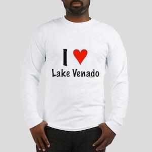 I love Lake Venado Long Sleeve T-Shirt