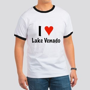 I love Lake Venado Ringer T