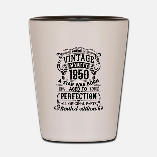 Vintage 1950 Shot Glass