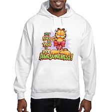 My Awesomeness Girls Hooded Sweatshirt