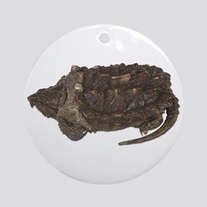 Snapping Turtle Ornament (Round)