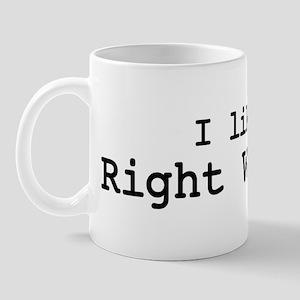 I like Right Whales Mug