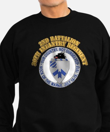 DUI - 2nd Battalion - 30th Infantry Regiment With