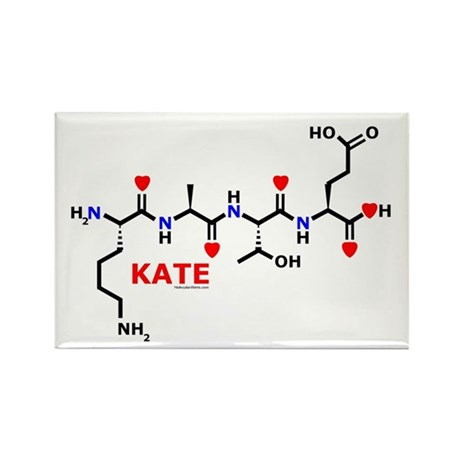 Kate molecularshirts.com Rectangle Magnet