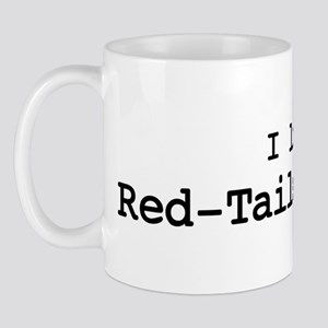 I like Red-Tailed Hawks Mug
