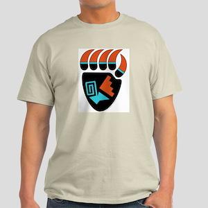 Hopi-Style Bear Paw Light T-Shirt
