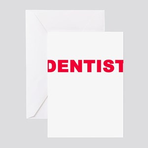 DENTIST Greeting Cards (Pk of 10)