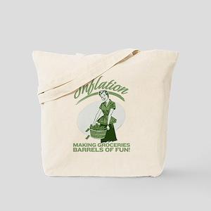 Inflation Tote Bag