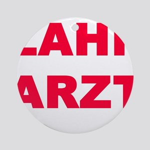 ZAHNARZT Ornament (Round)