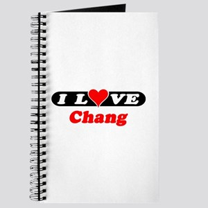 I Love Chang Journal