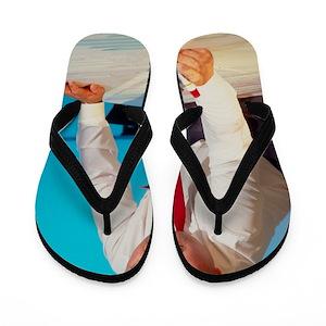 3fdab824668d2a Siemens Flip Flops - CafePress