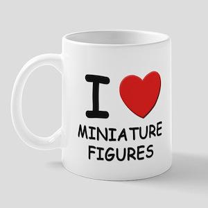 I love miniature figures  Mug