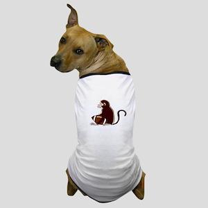 Football Monkey Dog T-Shirt
