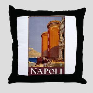 napoli - anonymous - circa 1920 - poster Throw Pil