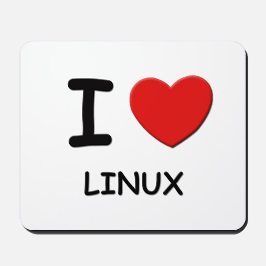 I love linux  Mousepad