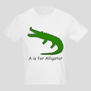 A is for Alligator Kids Light T-Shirt